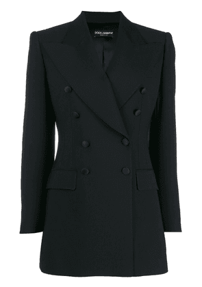 Dolce & Gabbana double-breasted tailored blazer - Black