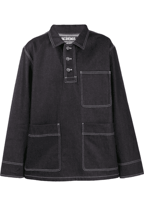 Jacquemus Meunier denim shirt - Blue