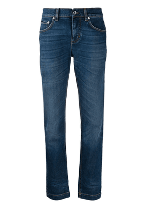 Dolce & Gabbana mid-rise slim-fit jeans - Blue