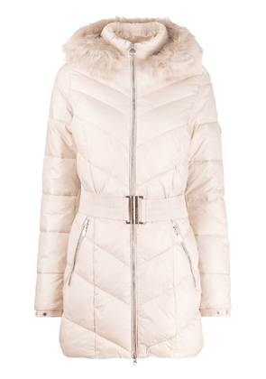 Barbour Highpoint padded parka coat - Neutrals