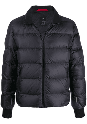 Fay quilted down jacket - Blue