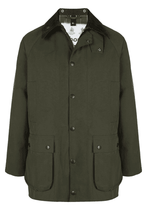 Barbour single breasted jacket - Green