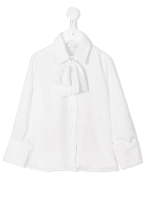 Le Gemelline By Feleppa pussy bow blouse - White