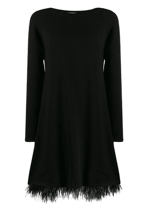 Twin-Set midi sweater dress - Black