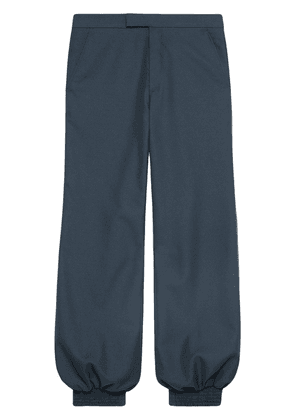Gucci Drill harem style pant - Blue