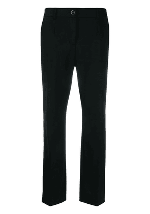 Dolce & Gabbana tailored straight leg trousers - Black