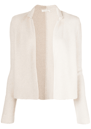 Majestic Filatures open front cardigan - White