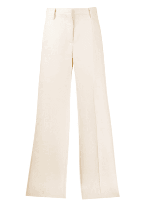 Valentino tailored wide leg trousers - White