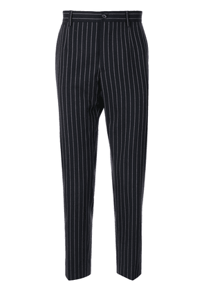 Dolce & Gabbana tailored pinstripe trousers - Blue