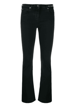Valentino slim-fit poem detail jeans - Black