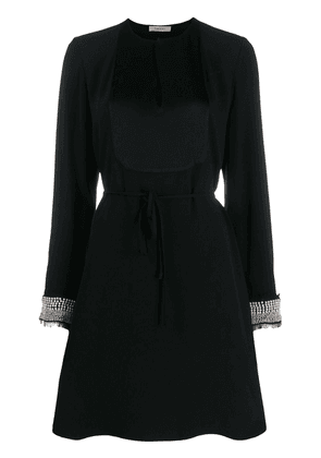 Twin-Set embellished shift dress - Black