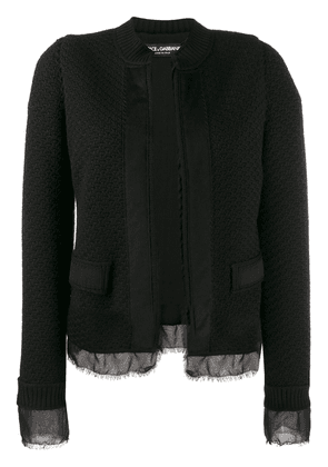 Dolce & Gabbana bouclé tweed jacket - Black