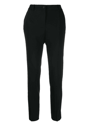 Dolce & Gabbana contrast band trousers - Black