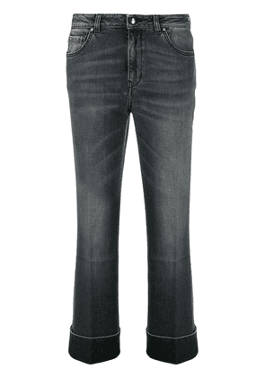 Fay high rise stonewashed jeans - Black