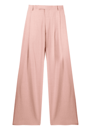 Gucci wide leg trousers - Pink
