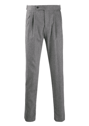 Eleventy slim-fit tailored trousers - Grey