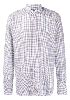 Barba Dandylife check shirt - White