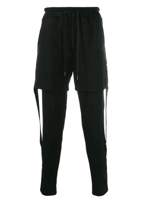 D.Gnak layered track pants - Black