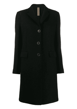 Eleventy mid-length single-breasted coat - Black