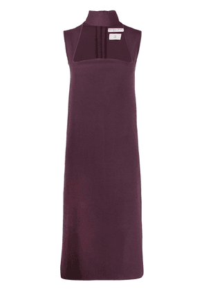 Bottega Veneta cut-out dress - PURPLE