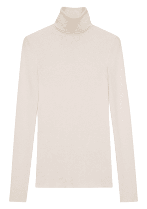Gucci GG ribbed knit jumper - White