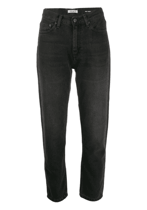 Carhartt WIP cropped high rise jeans - Black