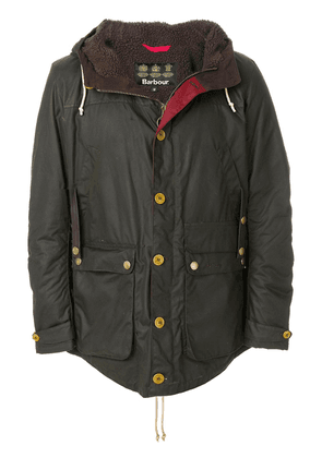 Barbour Game waxed parka jacket - Green