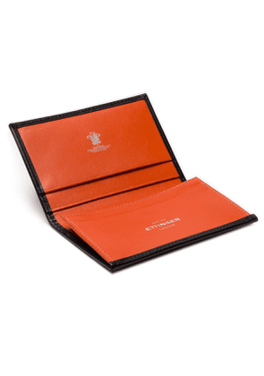 Black and Orange Visiting Card Case, Sterling Collection