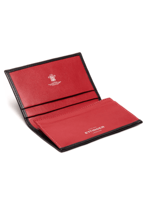 Black and Red Visiting Card Case, Sterling Collection