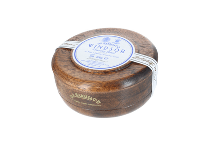 Windsor Traditional Shaving Soap with a Mahogany Bowl
