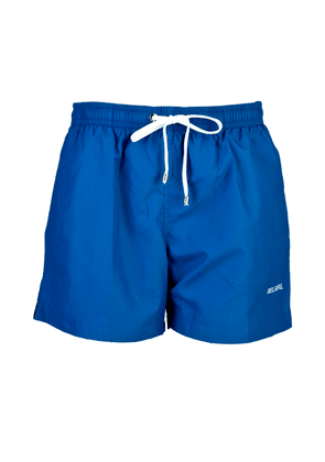 Marine Blue Fast-Dry Polyester Swimming Shorts