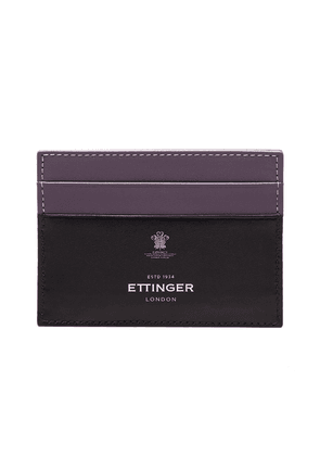 Purple Sterling Flat Credit Card Case