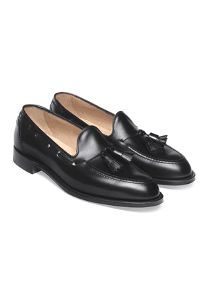 Black Calf Harry Tassel Loafers