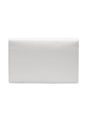White Goat Leather Card Case