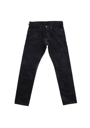 Black Cotton 12.50z Japanese Selvedge Denim Jeans