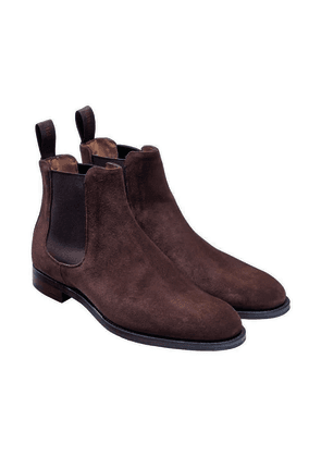 Brown Suede Godfrey Chelsea Boots