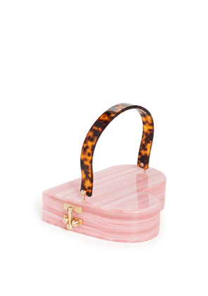 Edie Parker Heartly Clutch with Handle
