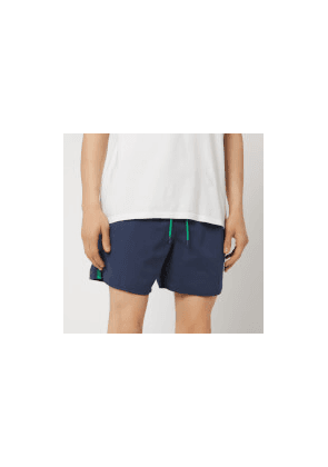 Emporio Armani Men's Taped Swim Shorts - Navy - EU 52/L - Navy