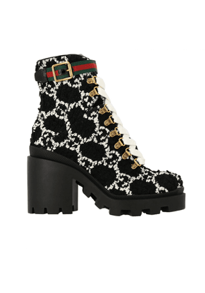 Flat Ankle Boots Shoes Women Gucci