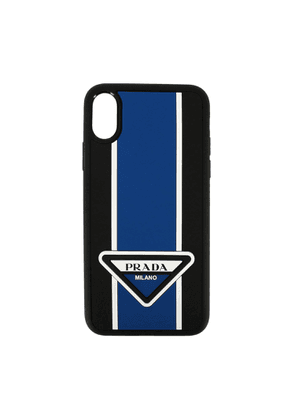 Cover Prada Iphone Xs Rubber Case With Triangular Logo