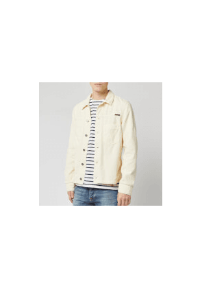 Nudie Jeans Men's Ronny Cord Jacket - Dusty White - S - White