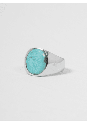 Tom Wood Turquoise Oval Ring