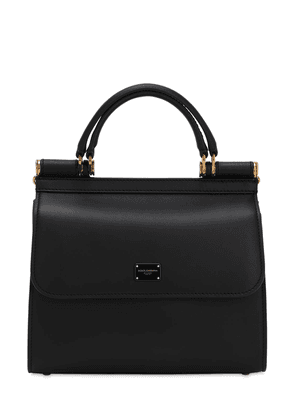 Sicily 58 Small Leather Top Handle Bag