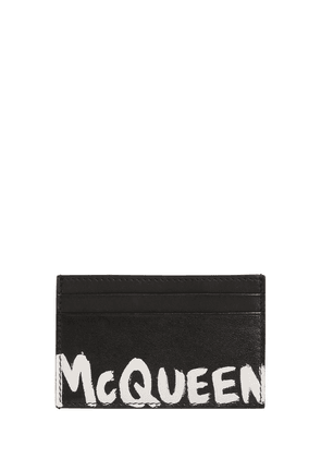 Leather Card Holder W/logo