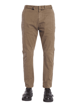 n°21 trousers with decorative strips