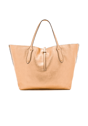 Annabel Ingall Large Isabella Tote in Metallic Copper.