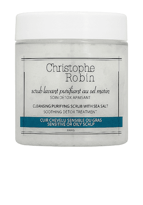 Christophe Robin Travel Cleansing Purifying Shampoo Scrub with Sea Salt in Beauty: NA.