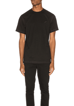 Publish Reverse Tee in Black. Size M,S,XL.