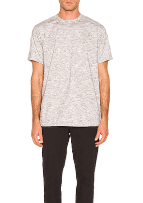 Publish Reverse Tee in Gray. Size M,S,XL.