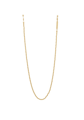 Frame Chain - Roller Chain Gold-plated Glasses Chain - Womens - Yellow Gold